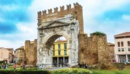 Arco d'Augusto Marina di Rimini Darsena Porto Turistico Rimini Emilia-Romagna posto barca